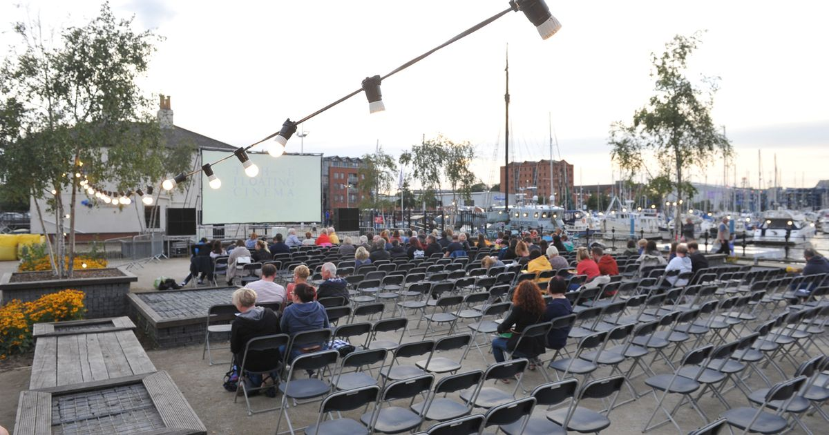 This free week-long floating cinema is now docked in Hull Marina – Hull Daily Mail