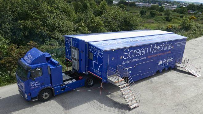 Mobile cinema operator secures key funding – BBC News