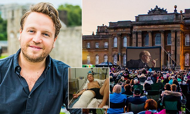 Former actor launched the UK's first outdoor cinema from his hospital bed | Daily Mail Online